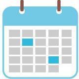 2月3月のカレンダー